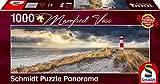 Schmidt Spiele Puzzle 59622 Manfred Voss, Leuchtturm, Sylt, 1000 Teile Panorama-Puzzle, bunt
