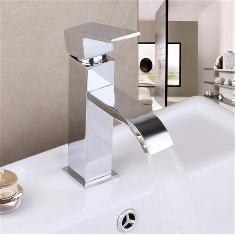 Oudan Bathroom Taps Basin Mixer Taps Bathroom Faucet Sink Tapskitchen Washbasin Faucet Chrome Brass Mixer Tap Water Mixer Tap Chrome Polished Water Faucet Solid Brass (color   -, Size   -)
