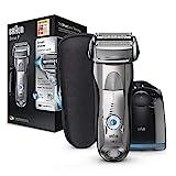 Braun Series 7 7898 cc - Afeitadora eléctrica para hombre de lámina , en seco y mojado, máquina de afeitar barba con estación de limpieza Clean & Charge