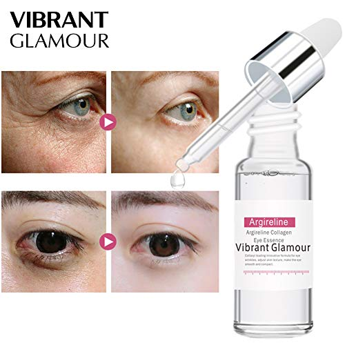 Rabusion Health For VIBRANT GLAMOUR Argireline Collagen Peptides Face Serum Anti-Aging Wrinkle Lift Firming Whitening Moisturizing Essence