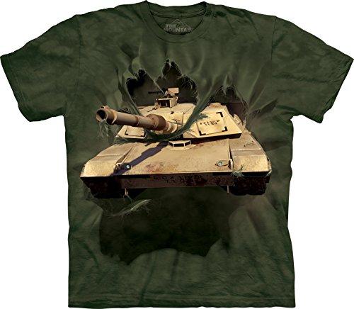 The Mountain Kinder Abrams Tank Breakthrough T-Shirt, Größe M, Grün