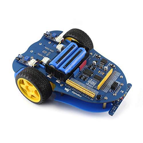 Waveshare NVIDIA JetBot AI Kit Smart Robot V2 LLD AlphaBot Mobile Robot Development Platform YELLOL mobile robot development platform, intellig