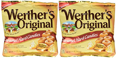 Werthers Original, Hard Candies - 5.5 Oz Bags (Pack of 2)