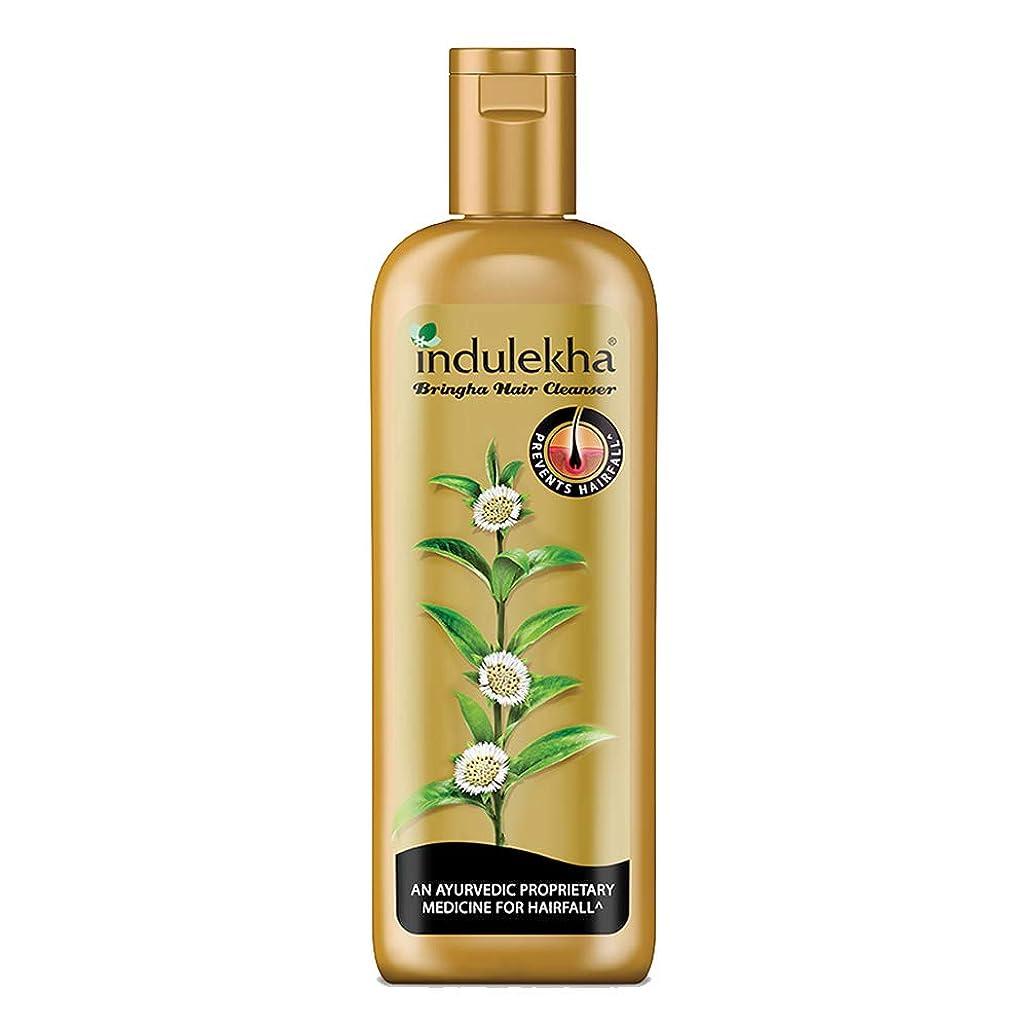 禁止する近所の空中Indulekha Bringha Anti Hair Fall Hair Cleanser Shampoo, 340ml