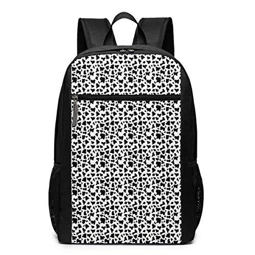 TRFashion Mochila Travel Backpacks Leopard Animal Print Shoulder Laptop Daypack Bags 17 Inch Schoolbag Book...