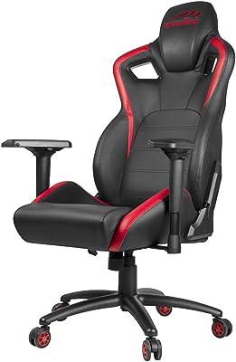 Speedlink TAGOS XL Chair, Piel sintética, Negro