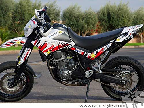 Yamaha XT 660 X (2007-14) Premium Factory Decals Sticker Kit