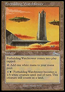 Magic: the Gathering - Forbidding Watchtower - Urza's Legacy