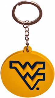 Multicolor Game Day Outfitters NCAA West Virginia Mountaineers Keychain Lucite Bottle Opener One Size