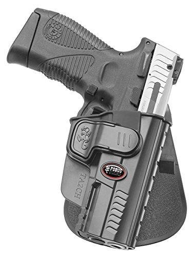 Fobus Holster Gürtel Halfter mit Trigger Guard Locking System für Taurus PT 24/7 Gen. 2, 9mm & .40cal (Nicht .45 Cal)