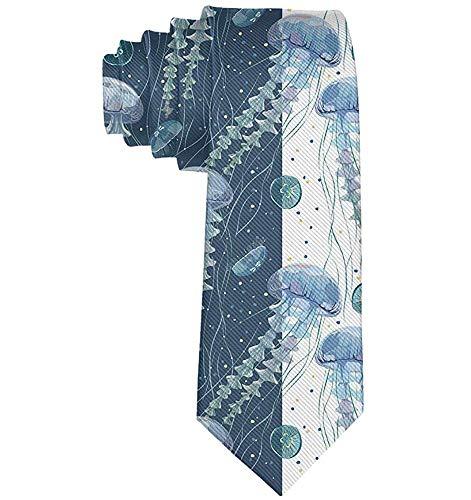 Formale Quallen-Wasserpflanze-Mann-beiläufige Kostüm-Polyester-Krawatten-Klage Bowtie