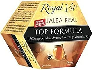 Jalea Real Top Formula Royal-Vit 20 ampollas