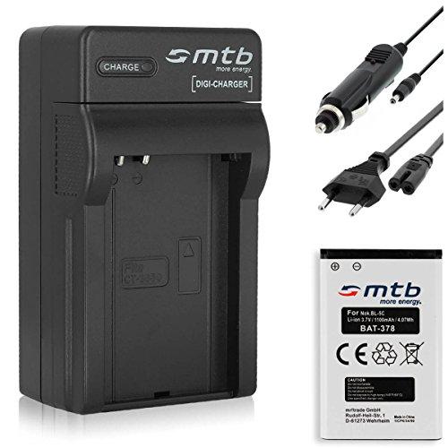 Ladegerät + Akku CT-3650 für Contour+2, HD 1080P. / Toshiba Camileo P100. / Aiptek - Siehe Kompatibilitätsliste