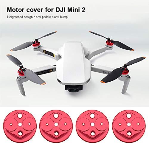 Goolsky Kompatibel mit dem kratzfesten Mini 2-Drohnenzubehör für das Mini 2-Motorabdeckungsschutzkappen-Kit
