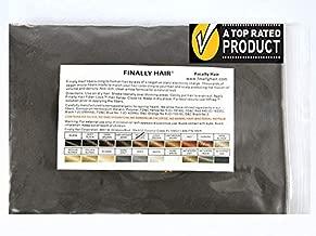 Finally Hair Fibers Refill Bag - 56 Grams of Premium Hair Loss Concealer in a Refill Bag (Medium Brown)