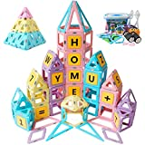 Magblock Magnetic Toys Kids Building Blocks Set Gifts for 3 4 5 Year Old Girls and Boys Magnet Toys Kids Educational Preschool Toys