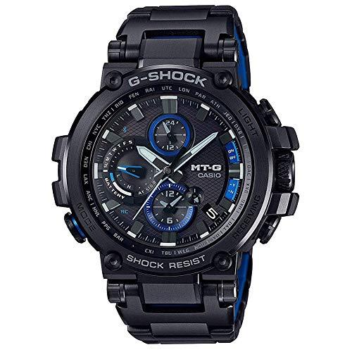 Casio G-Shock Men's Analog MTGB1000BD-1A Analog-Quartz Resin Watch Black