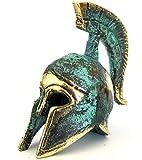 Iconsgr Ancient Greek Bronze Museum Replica of Spartan Officer Helmet (387)