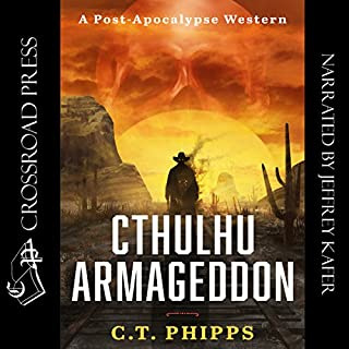 Cthulhu Armageddon audiobook cover art