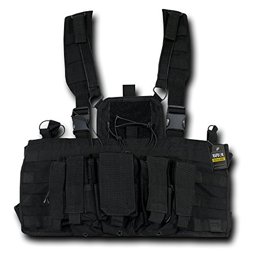 RAPDOM Tactical Molle Chest Rigs, Black