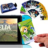 24Pcs The Legend of Zelda Breath of The Wild NFC Cards, [Newest Version] Compatible with Switch/Lite Wii U - with Cards Holder