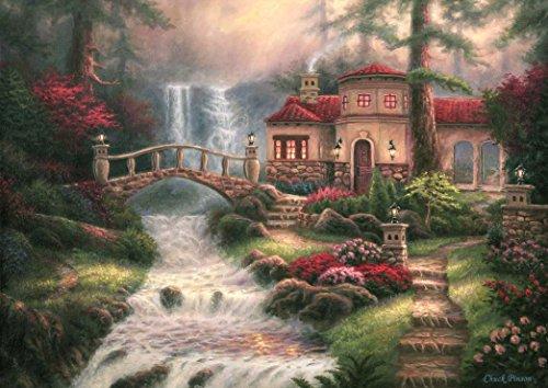 Grafika Puzzle 1000 Teile - Chuck Pinson - Sierra River Falls