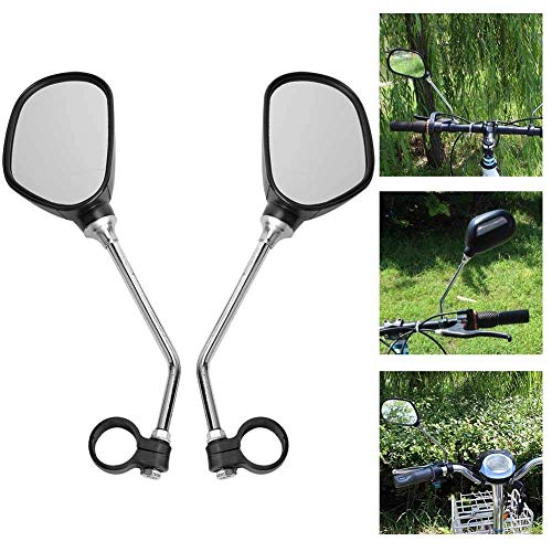 Bnineteenteam Espejo retrovisor de Manillar de Bicicleta de 1 par para Bicicletas...