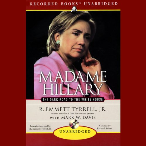 Madame Hillary audiobook cover art