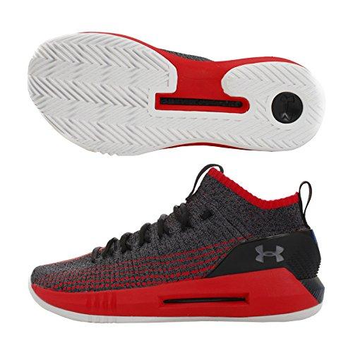 Under Armour UA Heat Seeker, Zapatos de Baloncesto Hombre, Negro (Black 002), 47.5 EU