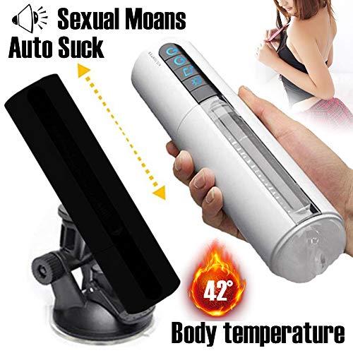 Masseur électriques Portables Réaliste Modèle 3D Massage par Vibration.Rechargeable