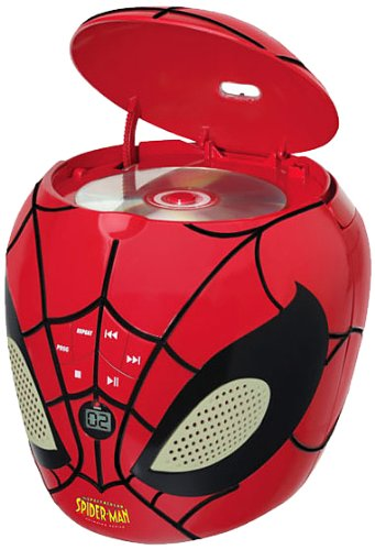 Lexibook - RCD200SP - Lecteur CD Spider Man