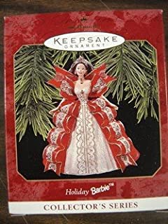 1997 Hallmark HOLIDAY BARBIE Keepsake Ornament by Hallmark