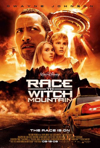 RACE TO WITCH MOUNTAIN MOVIE POSTER 2 Sided ORIGINAL 27x40