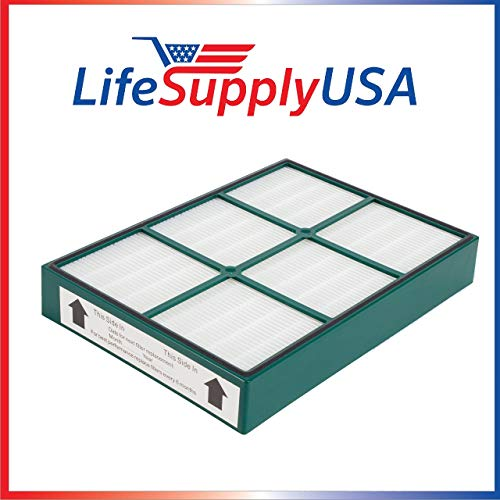 LifeSupplyUSA Replacement HEPAtech Filter Compatible with Hunter 30936 Quiet Flo Air Purifiers 30058 30085 30090 30095 30105 30117 30119 30130 36095 36117 36127 37090 30999