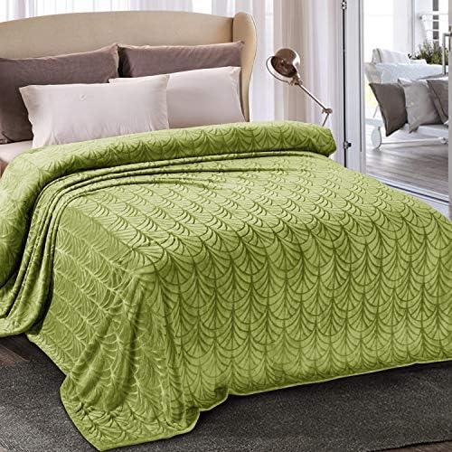 Whale Flotilla Flannel Fleece Queen Size Bed Blanket Soft Velvet Bedspread Plush Fluffy Coverlet product image