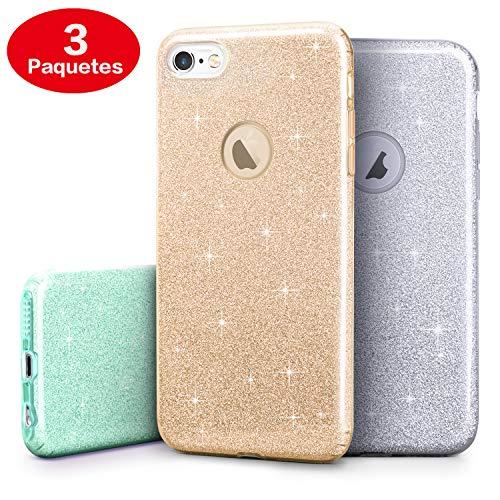 Handyone (3 Paquetes) Funda para iPhone 6 iPhone 6S, Carcasa para Teléfono Móvil de Alta Protección y…