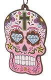 PUCKATOR - Ambientador de Cereza para Coche, diseño de Calavera del Día de Muertos