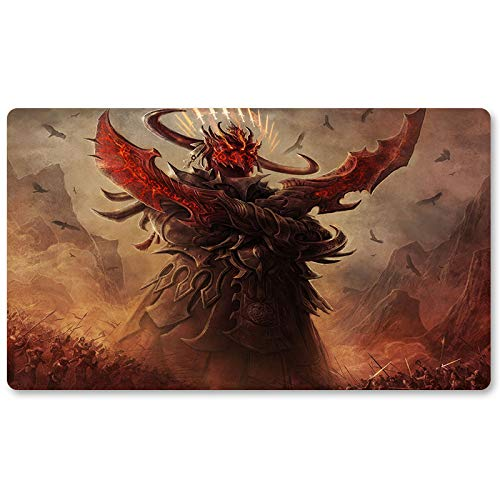 Avatar-of-Slaughter-Brettspiel MTG Spielmatte Tischmatte Spielmatte Größe 60x35cm Mousepad Spielmatte für Yugioh Pokemon Magic The Gathering