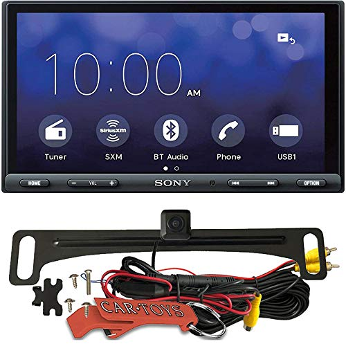 Sony XAV-AX8000 Floating LCD Car Multimedia Receiver Safe Driver