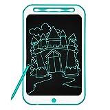 Richgv 12 Pulgadas Tablet para Niños, Tablets de Escritura LCD, Portátil Tableta de Dibujo, Cuaderno de Notas Adecuada Juguetes de Niñas de 3-10 Años, 1 Año de Garantía (12 Pulgadas, Verde-A)