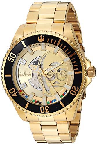 Orologio da uomo Invicta Star Wars Limited Edition – C-3PO – tono oro...