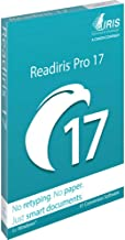 Readiris Pro 17 OCR, PDF and Document Management Software for Windows DVD