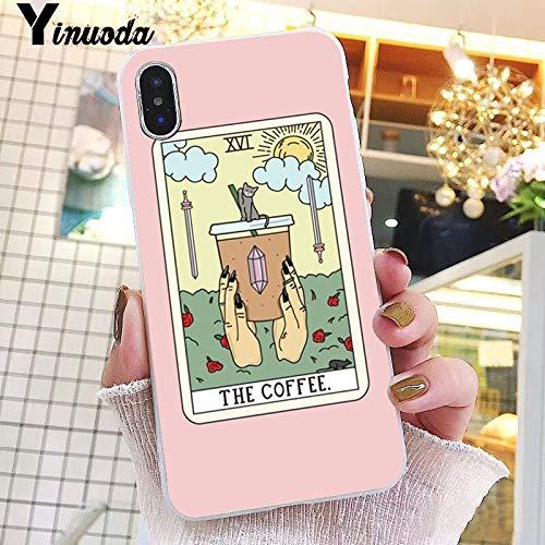 Inspired by Tarot Cards Phone Case Compatible With Iphone 7 XR 6s Plus 6 X 8 9 11 Cases Pro XS Max Clear Iphones Cases TPU- Vaporesso- Ouspensky- Mantegna- Wildwood- 4000047577561