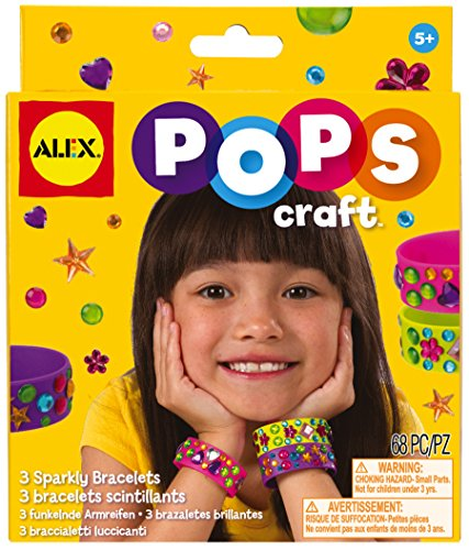 ALEX Toys POPS Craft 3 Sparkly Bracelets