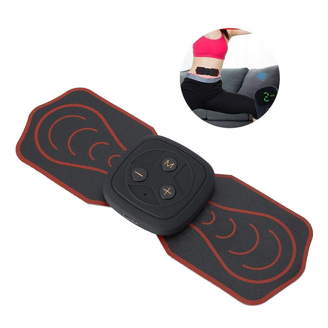 荒廃するいいね努力首サポーターミニマッサージャー多機能パッド低周波デジタルマッサージ用背中足足筋肉