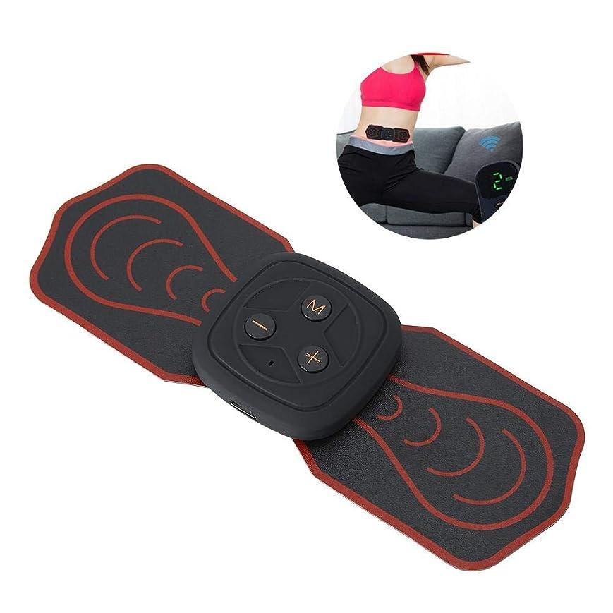 鼓舞する吸い込むほこり首サポーターミニマッサージャー多機能パッド低周波デジタルマッサージ用背中足足筋肉