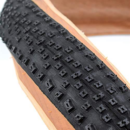 Qivor 1pc 29 * 2.1 27.5 * 2.1 Ultralige Neumático sin cámara Llena de Llantas MTB Neumáticos de la Bicicleta de montaña Neumático (Color : 1pc 29X2.1)