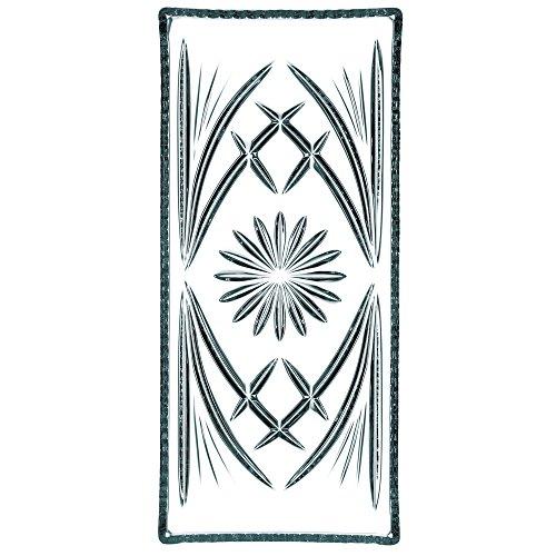 Spiegelau & Nachtmann, Kuchenplatte rechteckig, Kristallglas, Größe: 33 cm, Palais, 0038339-0