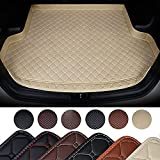 HIZH Alfombrillas para Maletero Tailored para Mazda CX-5 Cx-7 CX-9 Cx3 6 GH 6 GG 323 626 Protector Funda De Maletero De Coche ,Beige