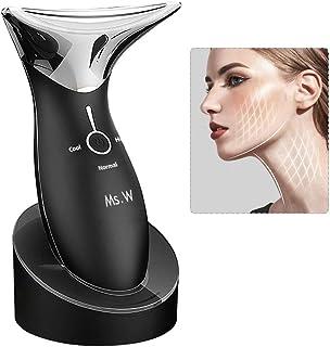 دستگاه زیبایی ماساژور صورت ماساژور داغ و سرد ، خانم مایکروسافت ، دستگاه مراقبت از پوست ضد چین و چروک سونیک ، ماساژور تقویت کننده ضد پیری دستی ، قابل حمل
